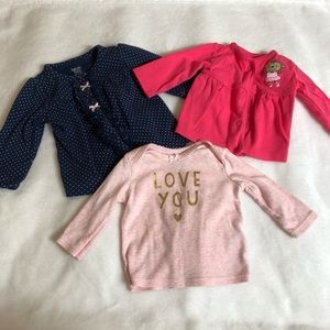 Carter's Shirts & Tops - Long sleeve shirt bundle